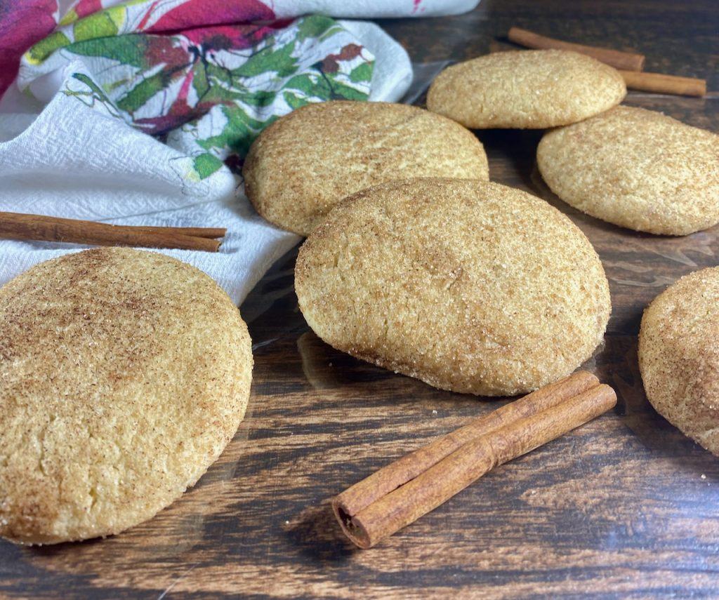 Gluten-Free Sorghum Millet Snickerdoodle Cookies