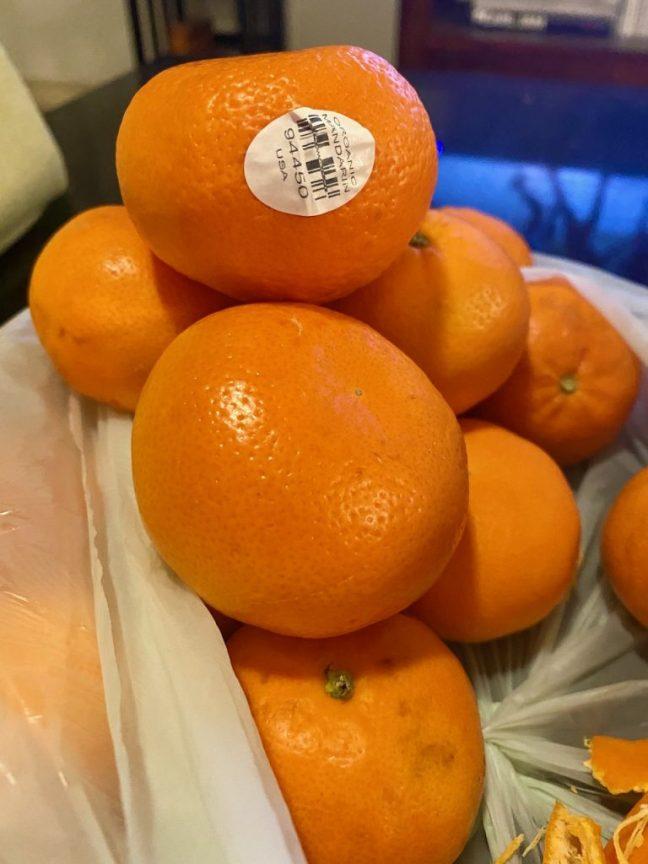 Organic Mandarin Oranges