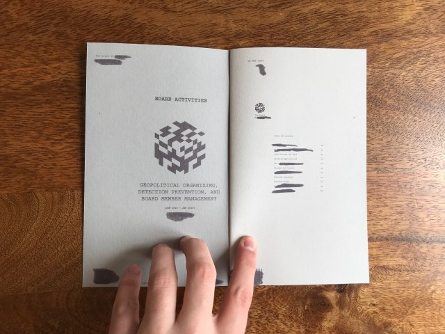 Vincent Drayne: Project Wrapup – AR Book