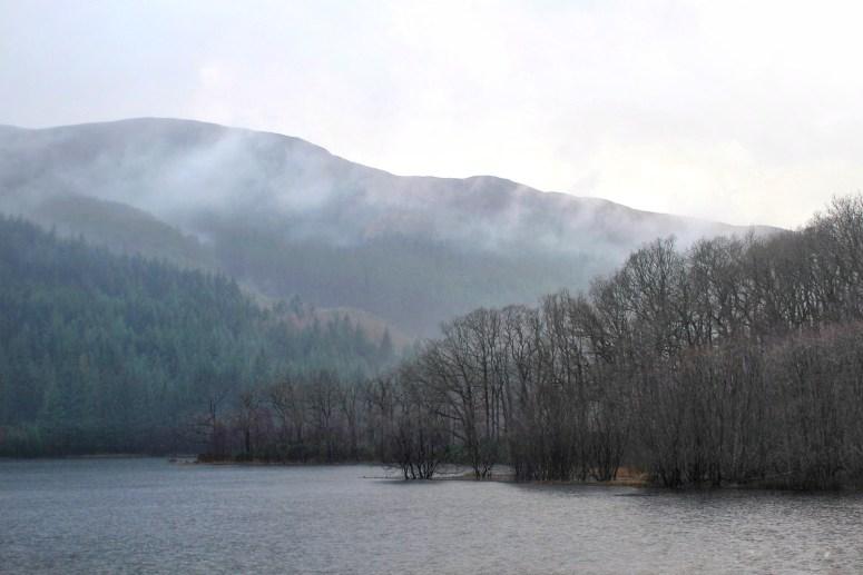Loch chon Trossachs