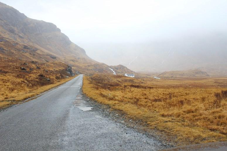 Scenic drive, Isle of Mull