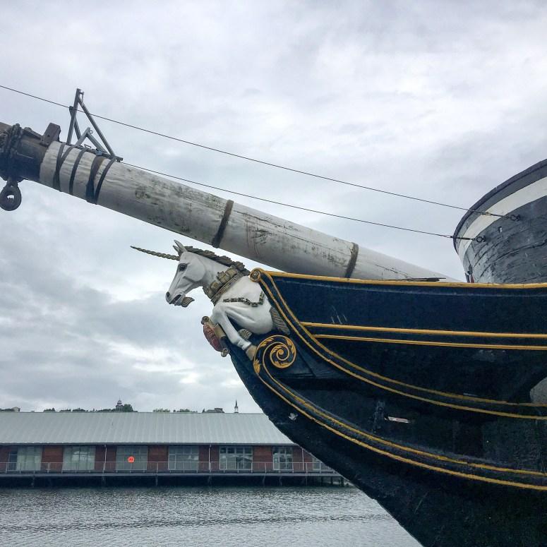 HM Frigate Unicorn, Dundee