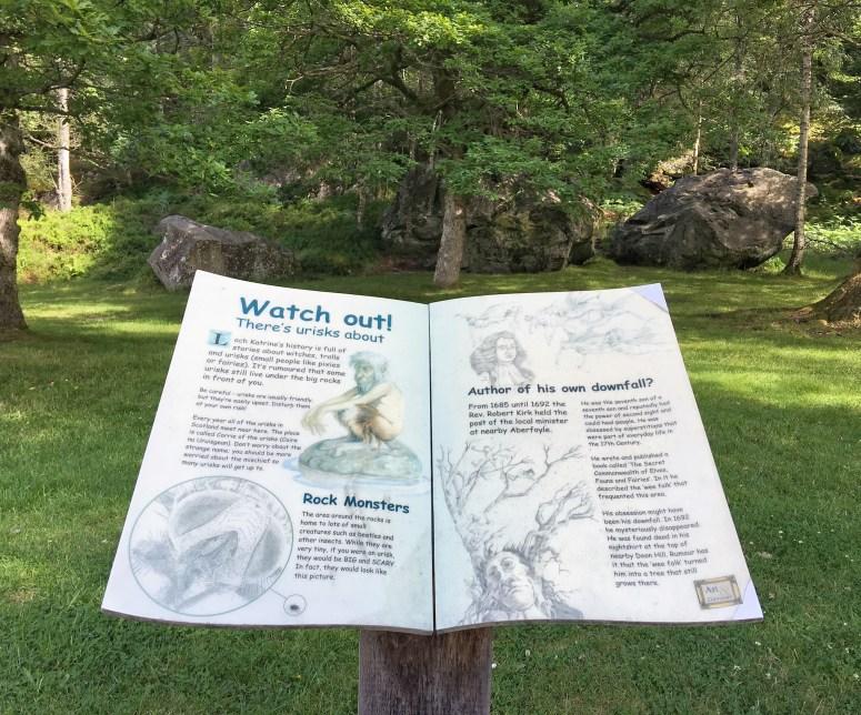 Urisks, Loch Katrine