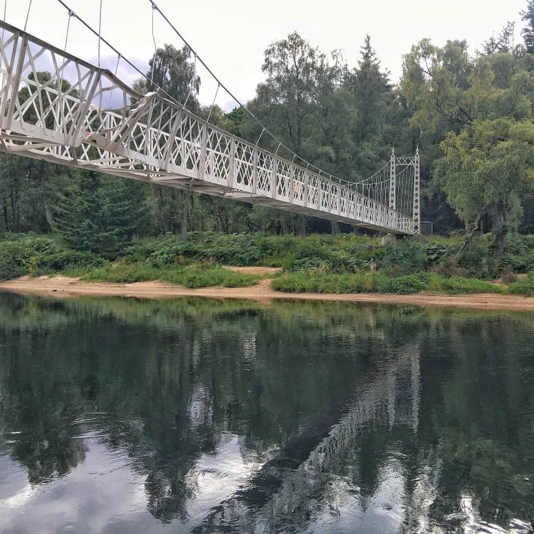 Cambus O' May Suspension Bridge