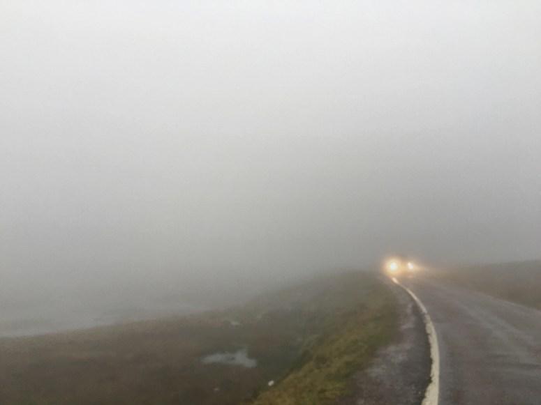 Fog on Bealach na Ba