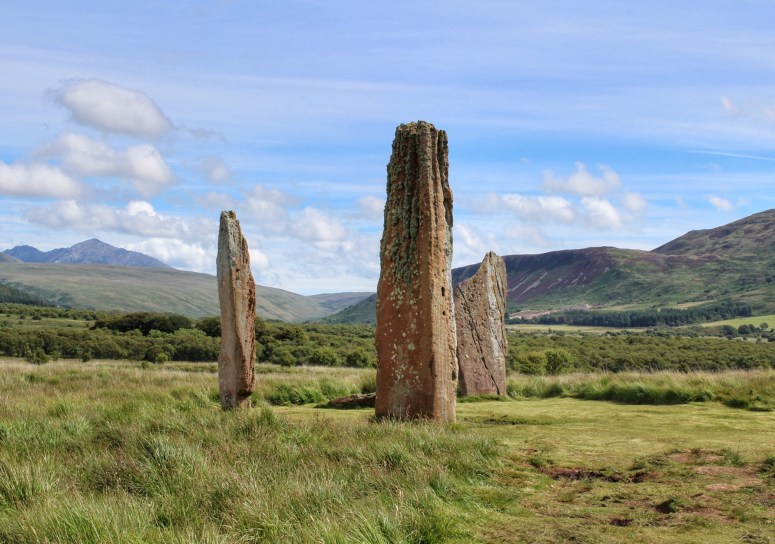 Machrie Morr stone circle, Arran