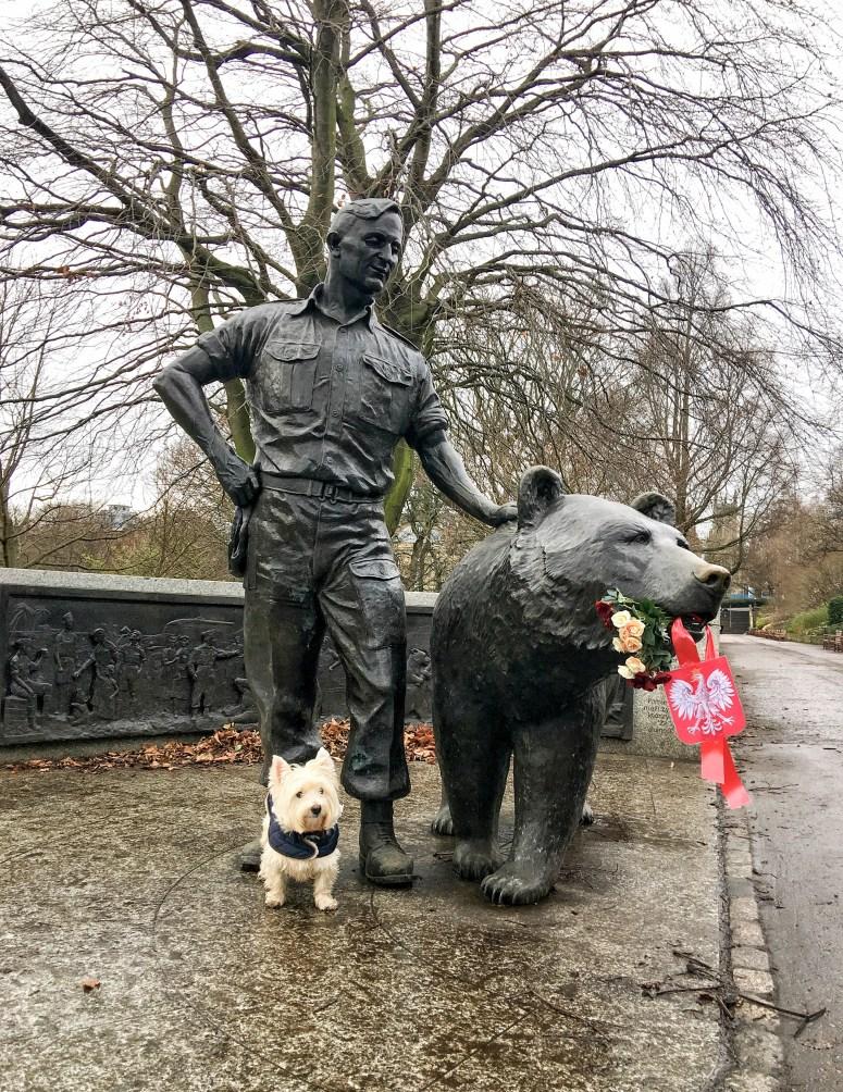 Soldier Bear, Edinburgh
