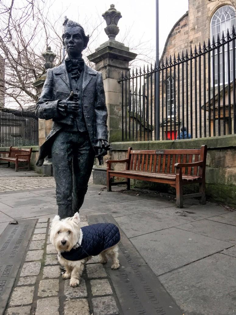 Robert Fergusson, Edinburgh
