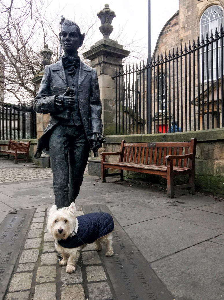Robert Fergusson, Edinburgh