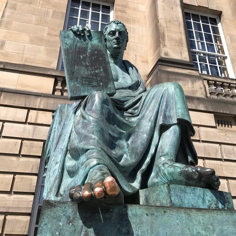 David Hume Statue, Edinburgh
