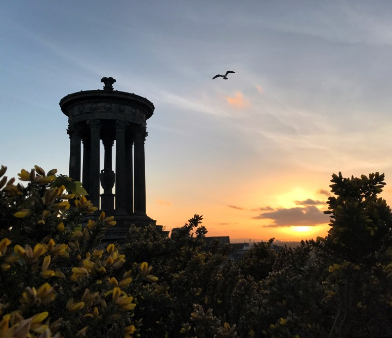 Sunset Calton Hill