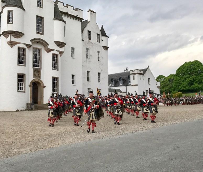 Atholl Highlanders' Parade