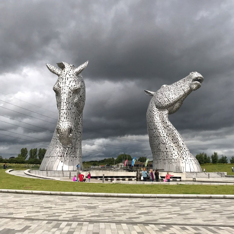 Visit Falkirk, The Kelpies