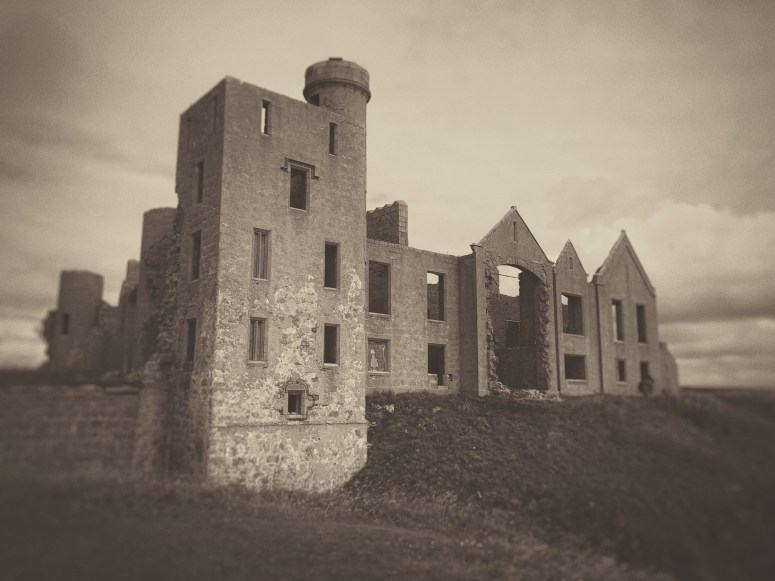 Castle Dracula, Slains Castle