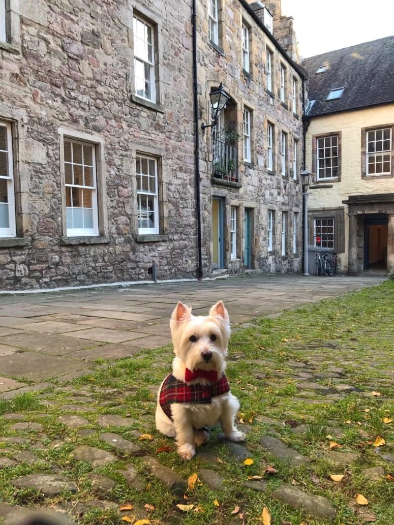 Outlander filming location Edinburgh