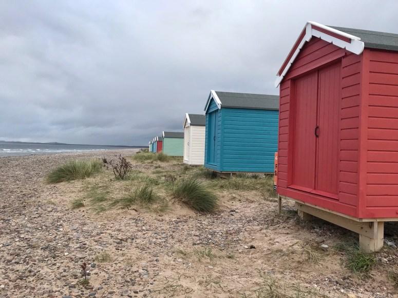 Beach huts, Findhorn