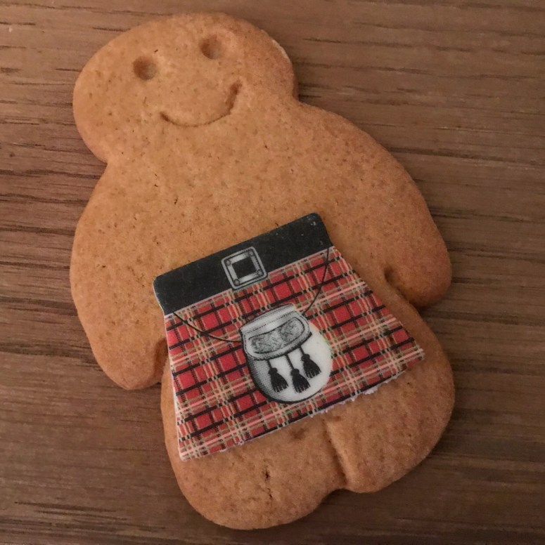 Kilted shortbread