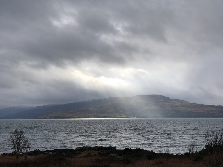 Light over Isle of Mull