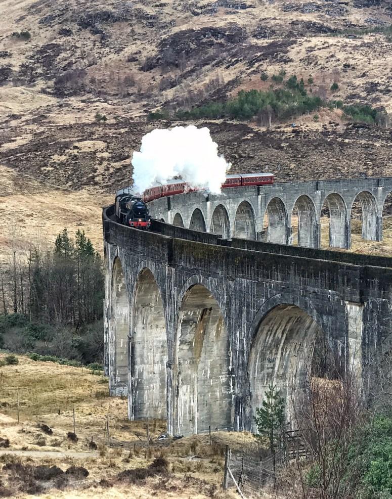 Hogwarts Express, Glenfinnan Viaduct