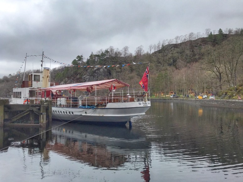 SS Sir Walter Scott, Trossachs Pier