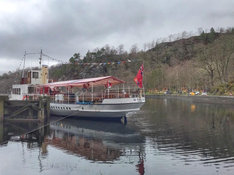 SS Sir Walter Scott, Trossachs Pier