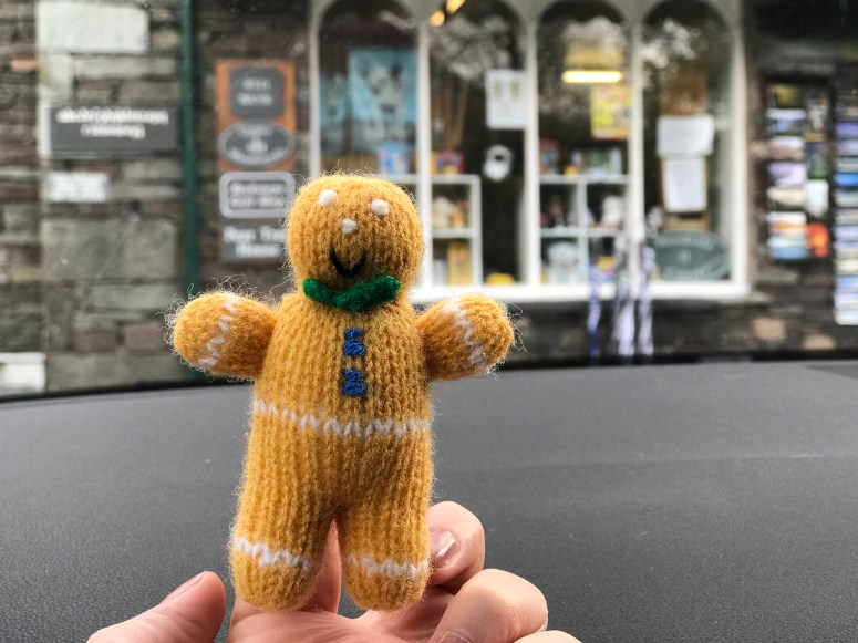 Gingerbread man, Grasmere