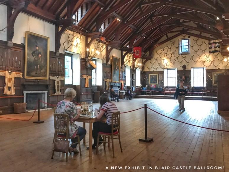 Afternoon Tea, Blair Castle