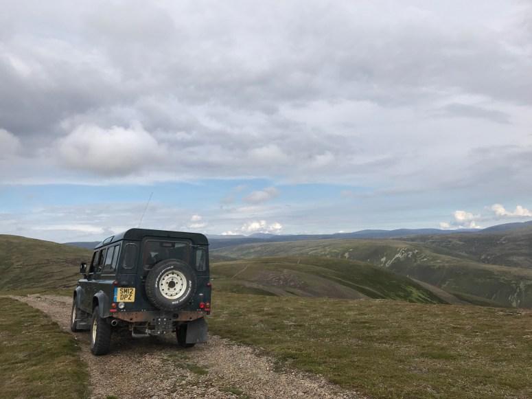 Land Rover Safari, Atholl Estates