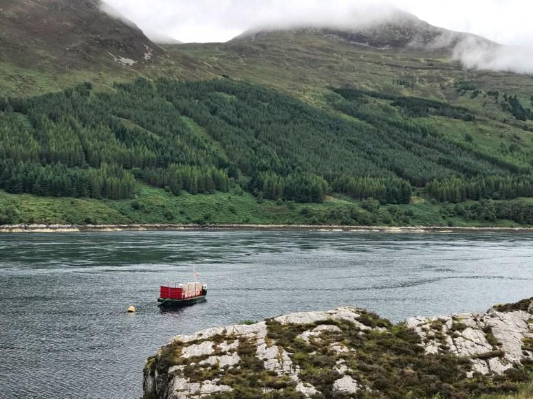 Skye Ferry, Glenelg