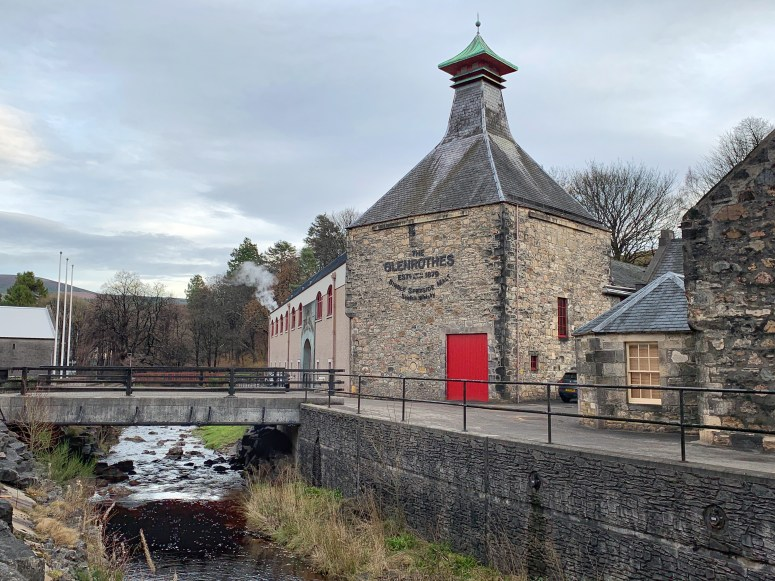 Glenrothes Distillery, Rothes