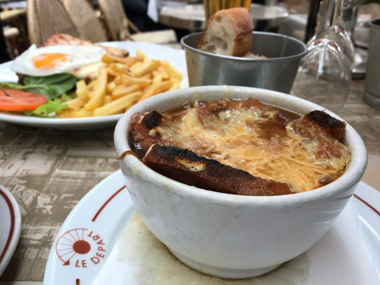 French Onion Soup, Paris