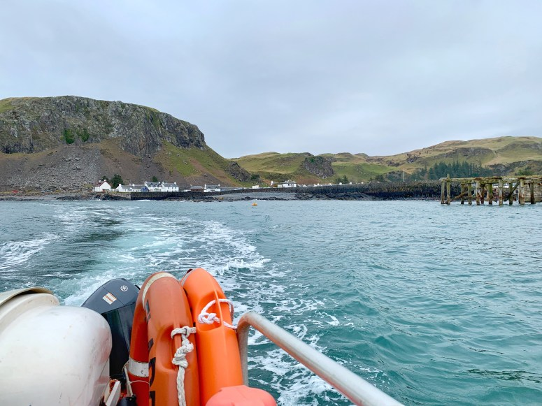 Easdale Ferry, Slate Islands