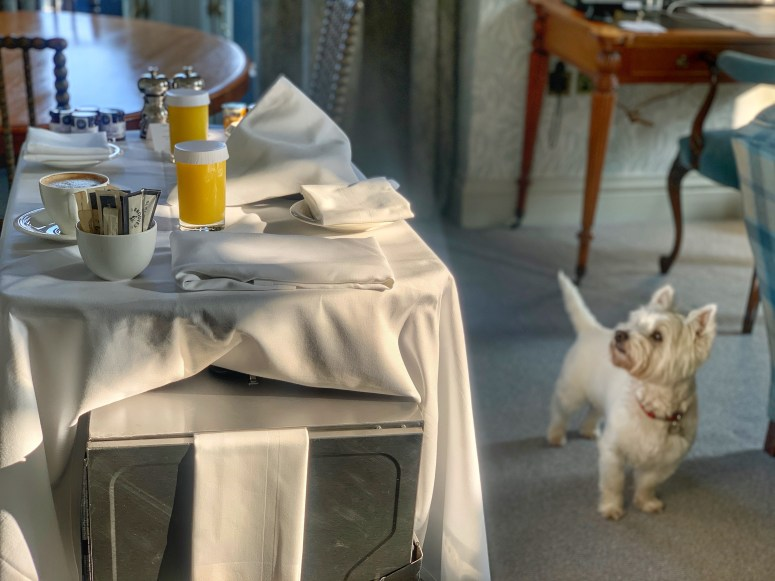 Room service, The Balmoral
