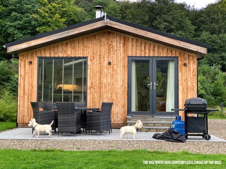 Lodge break in Perthshire