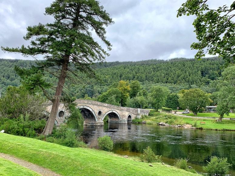 Kenmore, lodge break in Perthshire