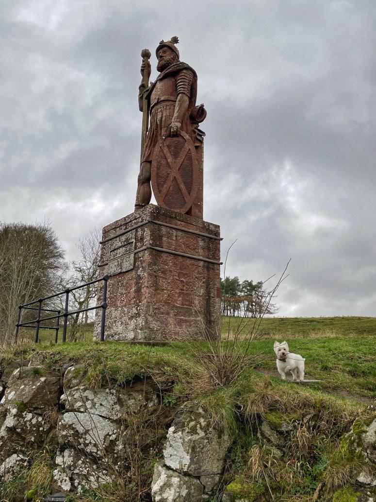 William Wallace statue, Scottish Borders
