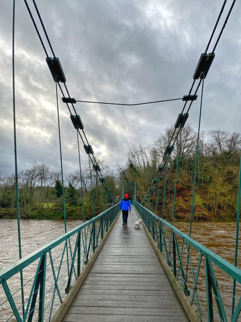 Dryburgh Suspension Bridge
