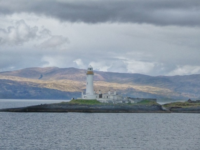 Lismore Lighthouse from CalMac Ferry