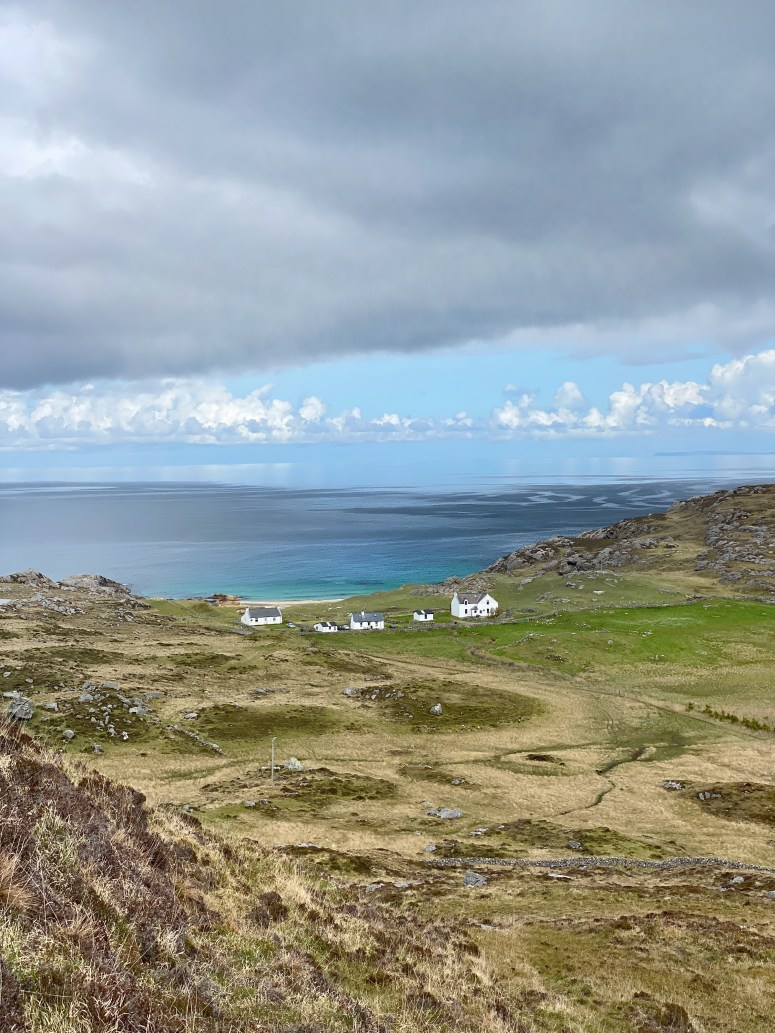 Beautiful view from Ben Hogh, Coll