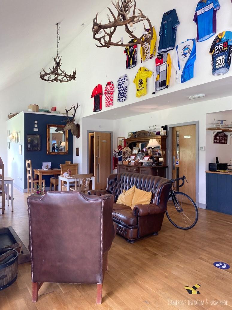 The Camerons Tea Room & Farm Shop, Foyers