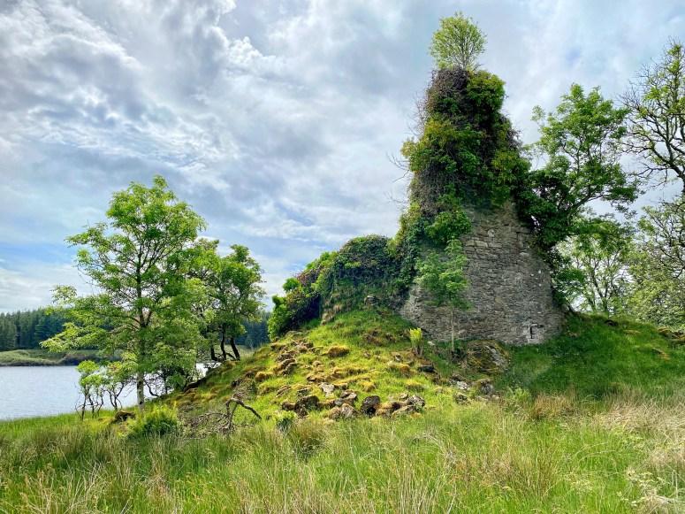 Asgog Castle, exploring Argyll