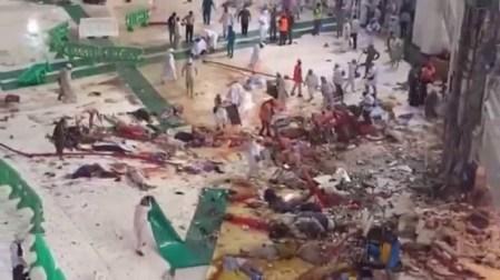 Blood bath in Mecca.