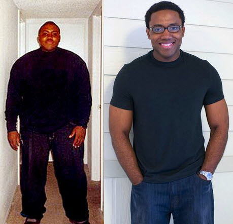 Male Before And After Weight Loss: Kalvin Drops 135 Pounds ...