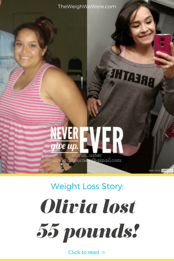 Olivia Lost 55 Pounds