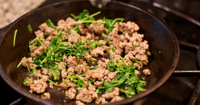 Garlic and Rosemary Ground Beef