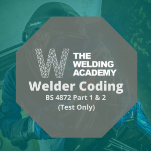 WELDER CODING – BS 4872 Part 1 & 2