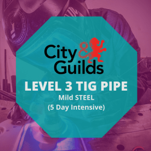 CITY & GUILDS LEVEL 3 IN ADVANCED WELDING SKILLS IN TIG – PIPE