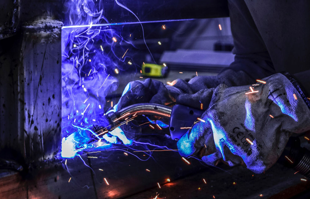 Amazing welding training at the welding academy based in Chester UK