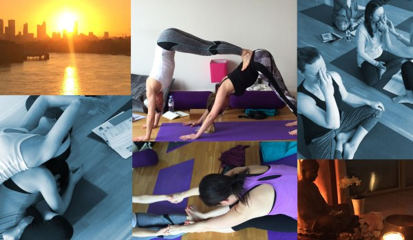 Yoga Teacher training at The well being Yoga school