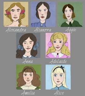 The Standish Princessescolor